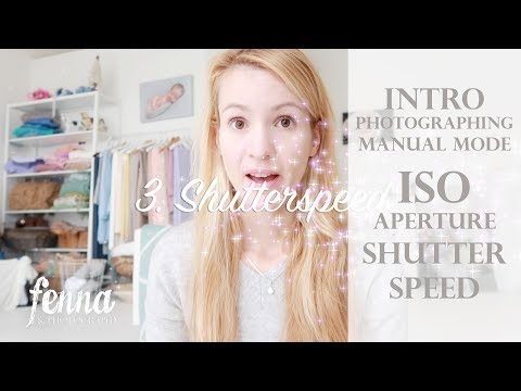 Intro to Camera Settings when Photographing in Manual Mode - ISO Aperture Shutter Speed