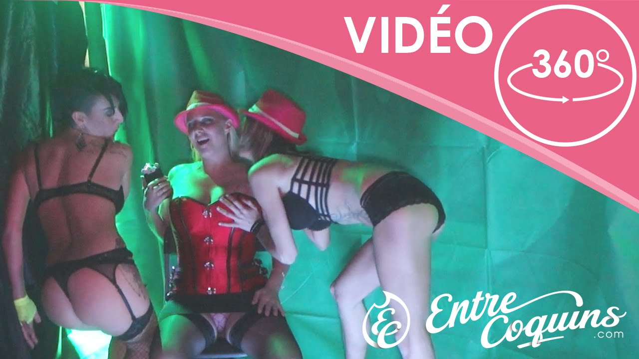 Vid o 360 salon de l 39 rotisme show striptease for Salon kamasou