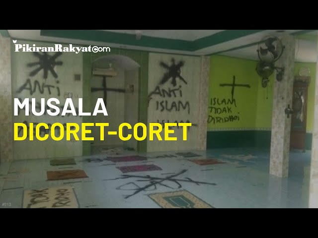 Viral Musala di Tangerang Dicoret-coret 'Saya Kafir' hingga Al-Quran Disobek, Polisi Amankan Barbuk
