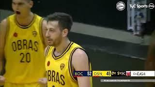 #LNB - Boca Jrs. 75-68 Obras Basket (27/01/2021)
