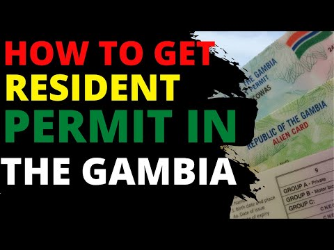 How to get a permanent residency in the GAMBIA