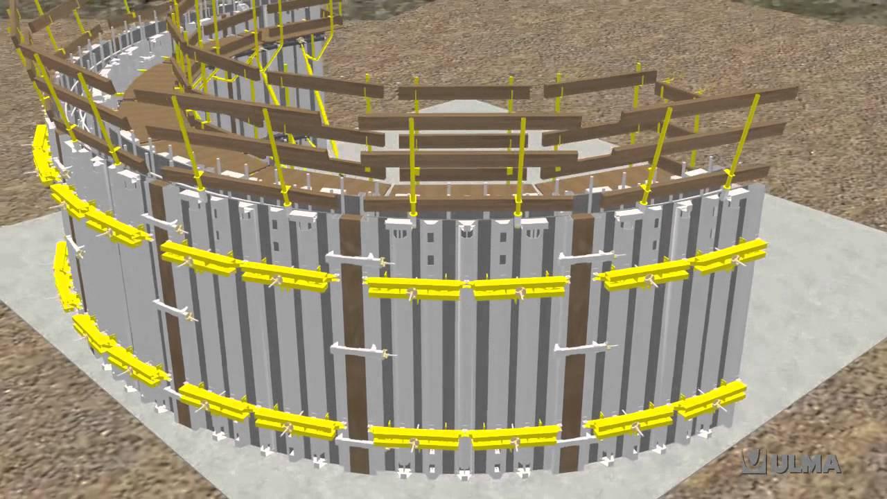 Steel Circular Formwork BIRAMAX - ULMA Construction [en]