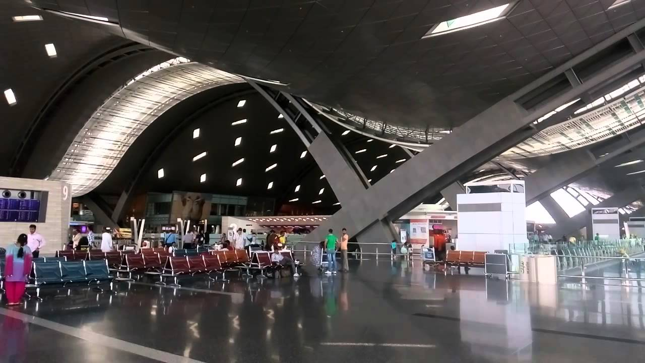 Hamad Airport Departure Zone Youtube