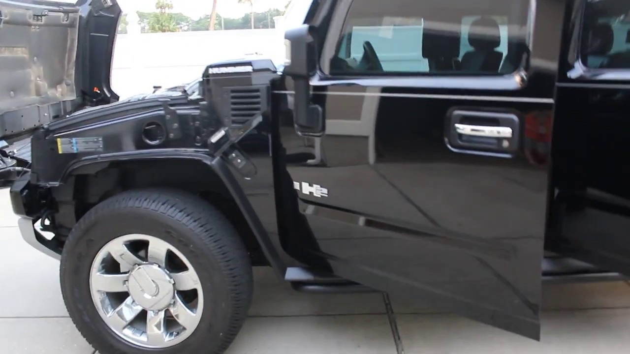 Fully Armored 2009 Hummer H2 For Sale