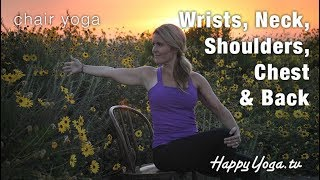 Happy Yoga with Sarah Starr | Chair Yoga Volume 9 | Blooming Sunset