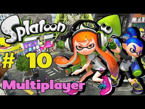 Let's Play Splatoon [Mutilplayer] - #10 | My Carbon Is My CarBron