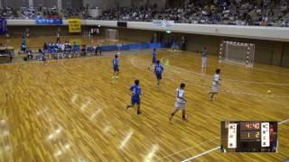 5日 ハンドボール男子 あづま総合体育館 Aコート 高山西×福島工業 1回戦 1