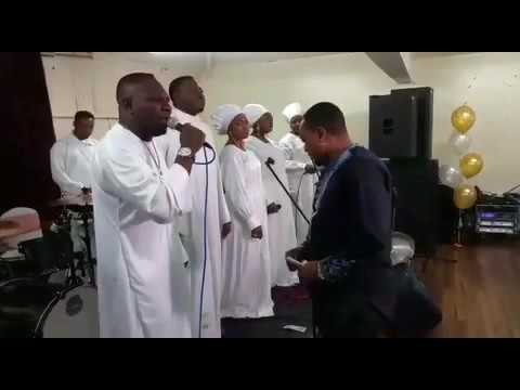 Sammy p live on stage @ CCC Jerusalem parish Manchester