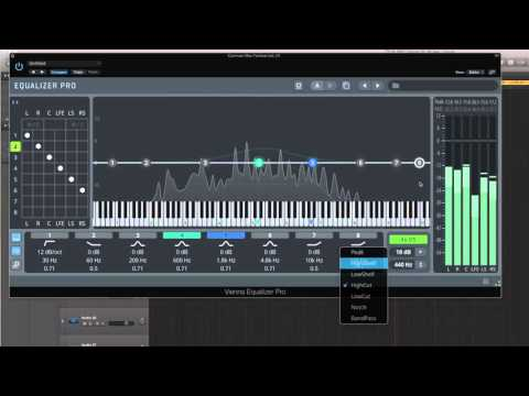 Vienna Suite Pro: Basics and Equalizer Pro