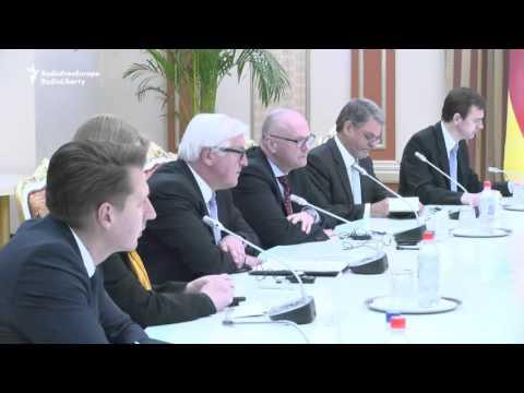 OSCE's Steinmeier Meets Tajik President
