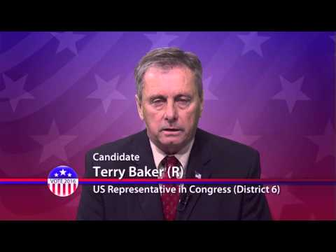 Terry Baker (R), Candidate for U.S. Congress District 6 - Primary Election