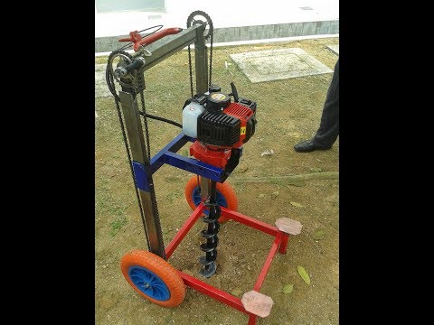 Agriculture Hole Digger-Student Final Year Project, Malaysia Polytechnic