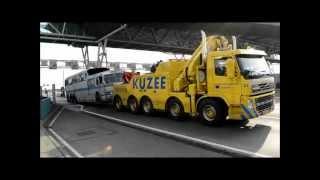 Special transport: GMC Scenicruiser PD4501-900