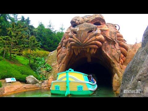 [4K] Disneyland Paris - Storybook Land Canal Boat Ride - Le Pays des Contes de Fées