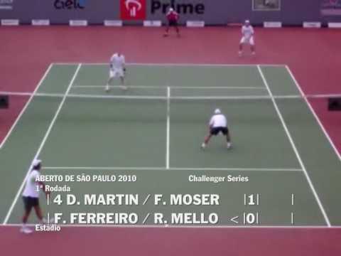 Aberto S. Paulo 2010 - F. Ferreiro / R. Mello vs D...