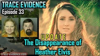 Trace Evidence - UPDATE: 033 - The Disappearance of Heather Elvis