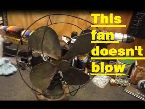 Antique Hunter Century Fan teardown & inspection