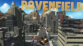 Ravenfield - The BEST Modded Maps - Aerial Combat & Cities in Chaos - Ravenfield Gameplay Highlights