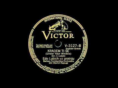Edo Ljubić - Kradem ti se u večeri (1941)