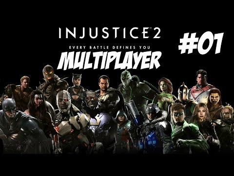 Let's Play Injustice 2 #Online Part 1 [German]