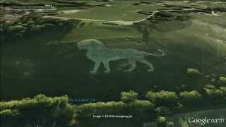 50 strange things on Google earth