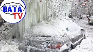 Как Россия зиму зимует