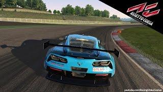 Assetto Corsa   Chevrolet Corvette C7R Gameplay [PS4] - Vallelunga - Italy