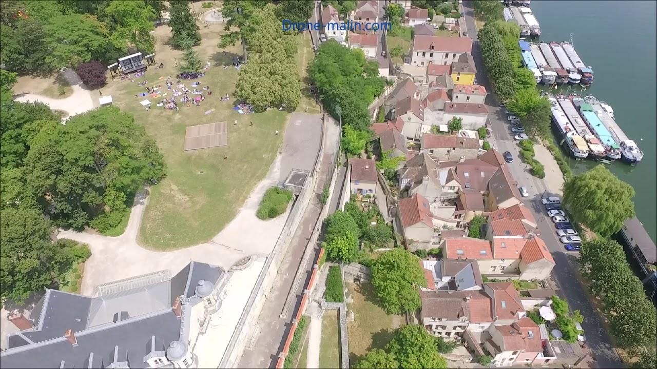Download Conflans Sainte Honorine en vue aérienne par drone, drone-malin.com