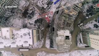 ЖК«Две столицы»— аэросъемка МСКГуру. Март 2017.