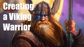 Live Stream - Drawing a Viking Warrior!