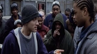 8 Mile - B Rabbit VS Xzibit (Mike) On Truck Lunch (OFFICIAL VIDEO)