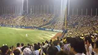 2012年9月28日 阪神タイガースの関東最終戦。 つまり金本知憲選手の関東...