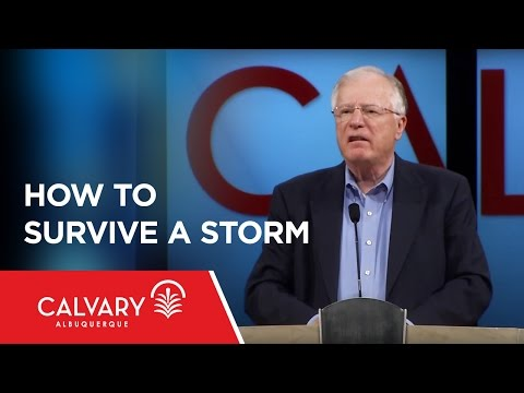 How To Survive A Storm - Matthew 14:22-33
