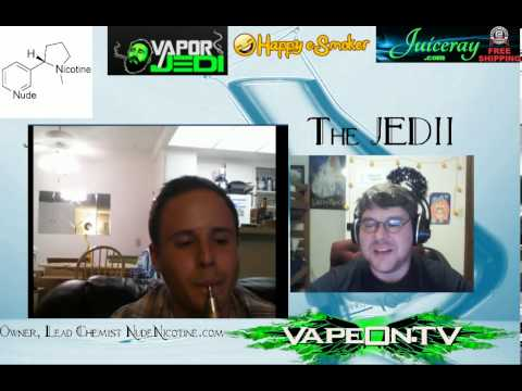 Our Show presents: Juicin' with JEDII! Special Guest: Jake Rubenstein of Nude Nicotine.com