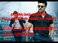 How to download dhruva movie in  hindi (100% work) dubbed full movie in single click || 100% working