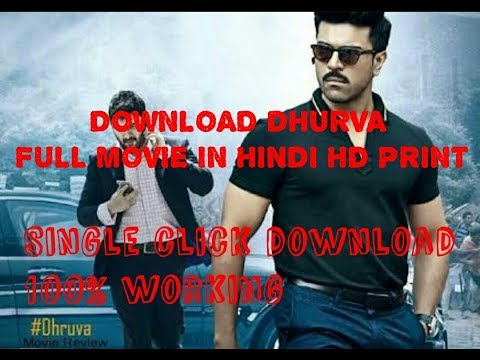 How to download dhruva movie in  hindi...