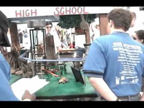 Brillion High School 2005 Rube Goldberg Machine