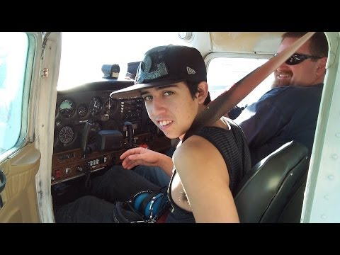 CESSNA 152 FLIGHT INSTRUCTION - APPLE VALLEY, CA - 1/20/2014