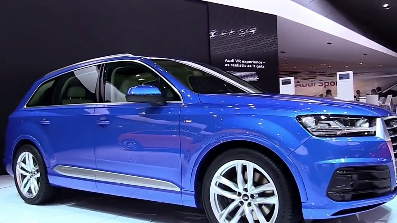 2018 audi q7 tfsi s line quattro design limited special first impression lookaround review youtube. Black Bedroom Furniture Sets. Home Design Ideas