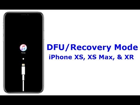 How to get iphone xs max out of recovery mode