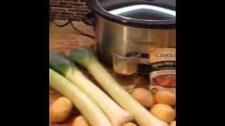 Easy Crock-Pot Potato Leek Soup