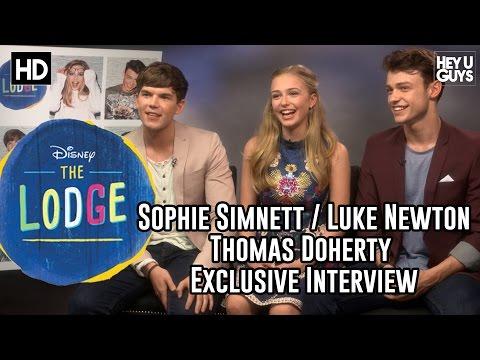 Sophie Simnett, Luke Newton & Thomas Doherty Exclusive Interview - Disney's The Lodge