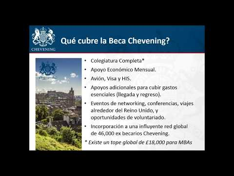 "Redmeree Webinar ""Becas Chevening - UK Government's Global Scholarship Programme"""