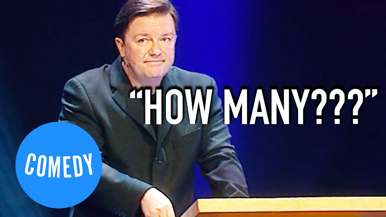 Ricky Gervais Takes On Hitler, Churchill, Gandhi and Anne Frank | Universal Comedy