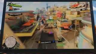 Sunset Overdrive: Sunset TV in-game message to reviewers