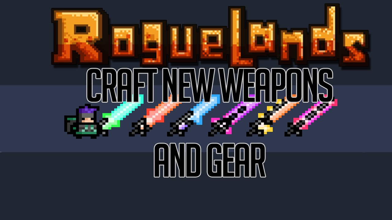 Roguelands Crafting Guide