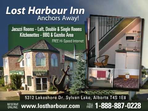 Lost Harbour Inn Sylvan Lake Alberta Hotel Motel