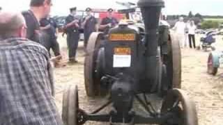Starting a Lanz Bulldog Tractor