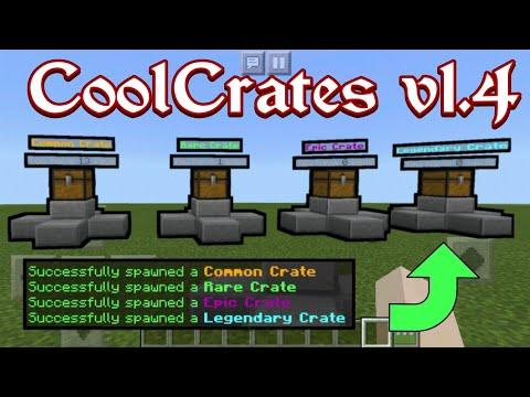 CoolCrates v1.4   PocketMine Plugin   Minecraft PE/BE 1.5.0 - 1.8.0   [Free Download]