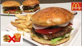 Mc Donald's Burger Uyda tayyorlaymiz ! Повторяю Бургер Mc Donald's дома. Вкуснее чем Макдака